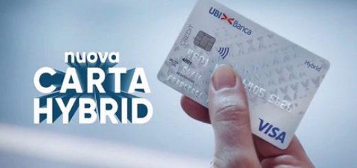come funzionano le carte di credito Hybrid di Ubi banca