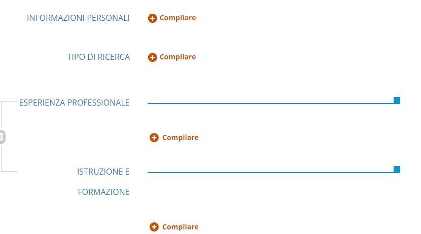 Come Compilare Online E Scaricare Il Curriculum Vitae Modello Europeo