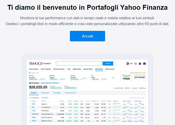 per tutta la famiglia elegante e grazioso sezione speciale Come funziona Yahoo! Finance: notizie, azioni e indici