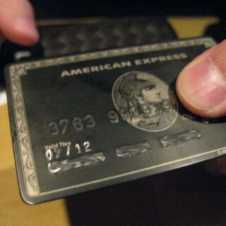Carta American Express Black